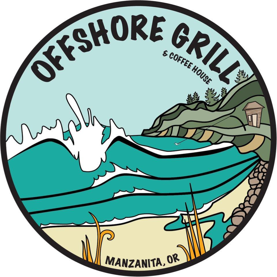 Offshore Grill and Cafe Manzanita Oregon Logo